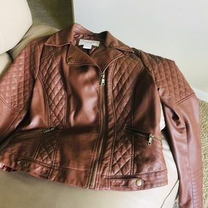 American Rag Leather Jacket! Size-L